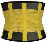 Пояс для схуднення Hot Shapers Power Belt на липучці ВЕЛИКИЙ, фото 4