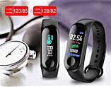 Фітнес-годинник М3, смарт браслет smart watch, аналог mi band 3, трекер, сенсорні фітнес годинник, фото 6