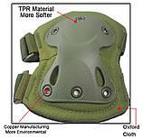 Захист наколінники налокітники штурмові тактичні набір Shell, фото 10