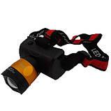 Мощный налобный фонарик BL 6966, фото 2