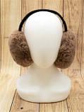 Складні однотонні теплі навушники з штучного хутра, фото 3