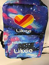 Рюкзак городской вместительный Likee R25 Синий (Звездное небо)