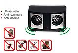 Ультразвуковий відлякувач гризунів DUAL SONIC PEST REPELLER EL-1391, фото 3