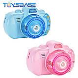Детский фотоаппарат для мыльных пузырей, генератор Bubble Camera, фото 2