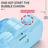 Детский фотоаппарат для мыльных пузырей, генератор Bubble Camera, фото 6