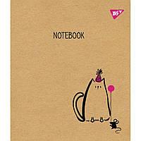 Тетрадь Yes А5 Sketch Animal Крафт 18 листов линия 5 дизайнов 10 шт (765088)