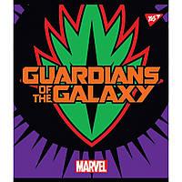 Тетрадь Yes А5 Marvel Hero Shields 18 листов линия 5 дизайнов 10 шт (765216)