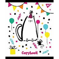 Тетрадь Yes А5 Sketch Animals 18 листов линия 5 дизайнов 10 шт (765215)
