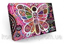 """Набір бісеру """"Charming Butterfly"""" 7269DT великий бісер"""