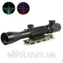 Оптичний Приціл Bushnell 3-9x40EG c підсвічуванням і планками і планками