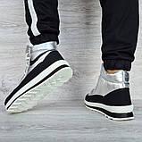 Женские ботинки зимние серебристые (15117ср), фото 2