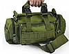 Рюкзак-сумка тактическая военная на пояс или плечо Molle Олива 6 Литров