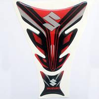 Наклейка на бак Suzuki Red, фото 1