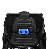 Дитячий електромобіль на акумуляторі Mercedes AMG M 4214 з пультом радіоуправління для дітей 3-8 років чорний, фото 7