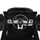 Дитячий електромобіль на акумуляторі Mercedes AMG M 4214 з пультом радіоуправління для дітей 3-8 років чорний, фото 8