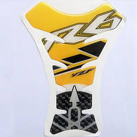 Наклейка на бак Yamaha YZF-R6 Yellow, фото 1