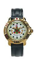 Механические наручные командирские мужские часы Восток с ручным заводом 54 Пограничные - 2в