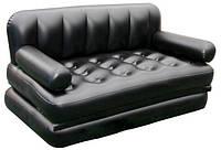 Надувной диван трансформер 5в1 Bestway 75039 Black, фото 1