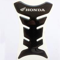 Наклейка на бак Honda Carbon