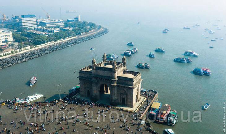 Груповий тур по Індії «Золотий трикутник Індії» HB (сніданок+вечеря) і Мумбаї на 7 днів