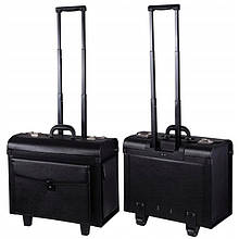 Косметична мобільна валіза, з екошкіри.
