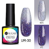 Термо гель-лак для ногтей маникюра термолак 7.5мл UR Sugar, UR-30