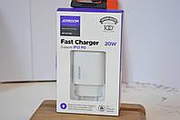 Зарядное устройство Joyroom Fast Charger 20W NRT-DY139E iP12 PD Быстрая зарядка