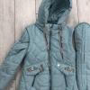 Демисезонное пальто для девочек 128-146 желтый