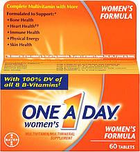 Мультивитамины и минералы для женщин One-A-Day, Bayer, 60 таблеток