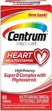 Мультивитаминный комплекс Centrum Specialist Heart для сердца, 60 таблеток
