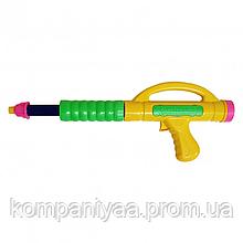 """Детский водяной помповый пистолет """"Н2В"""" 765GG (Желтый/Зеленый)"""