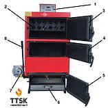 Твердотопливный котел-утилизатор длительного горения RODA RK3G-20 мощностью 23 кВт, фото 3