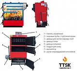 Твердотопливный котел-утилизатор длительного горения RODA RK3G-20 мощностью 23 кВт, фото 4