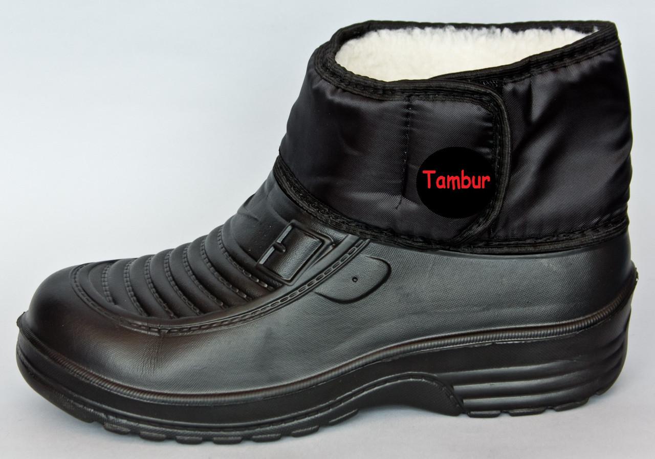 Зимові черевики для риболовлі Proof Black