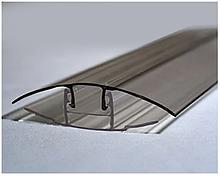Соединительный профиль  база-крышка HCP 6-10мм бронза 6000мм