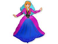 Фольгированный шар 901744 Принцесса Эльза м-ф Холодное сердце