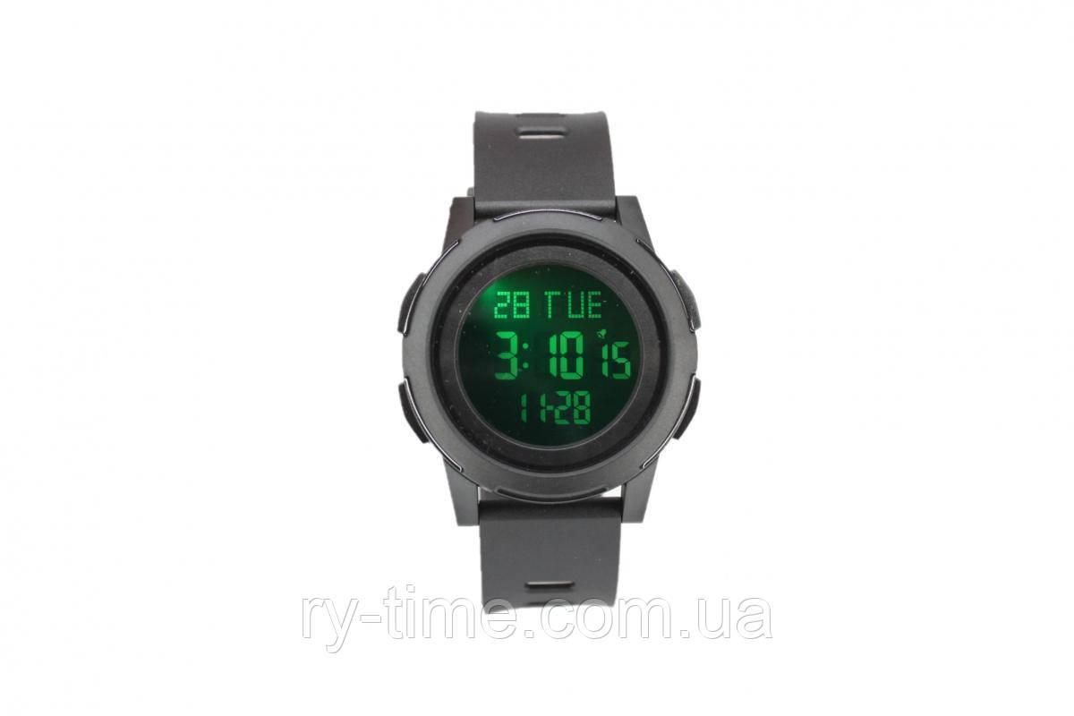 Электронные часы Skmei (Black Black Black)(008206)
