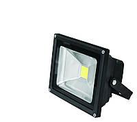 EUROELECTRIC LED Прожектор COB чорний 30W 6500K classic
