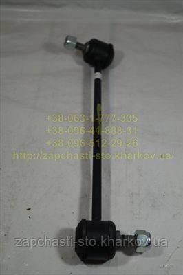 Стойка переднего стабилизатора левая Шевроле Лачетти (усиленная)
