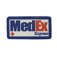 Патч 3D PVC Medex Express Blue