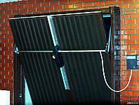 Ворота подъемные секционные промышленные с вертикальным подъемом