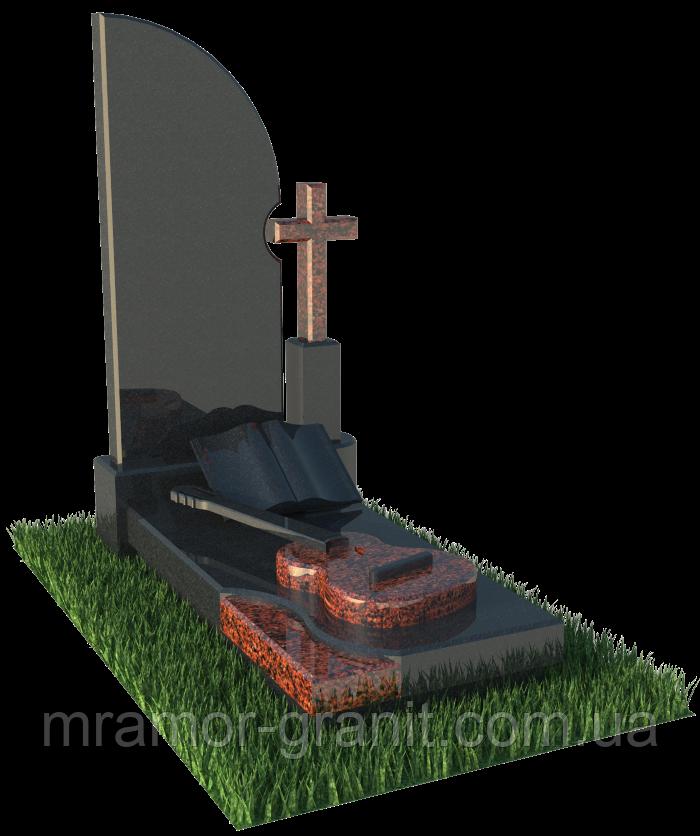 Памятник с гитарой ПГ - 039