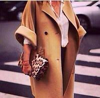 Пальто женское стильное с укороченными рукавами P425