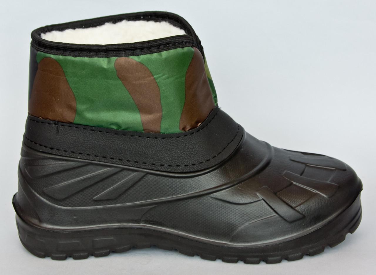 Зимние ботинки для рыбалки Proof Camo
