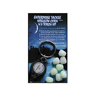 Enterprise Tackle Искусственные Приманки Enterprise, Цвет Nite Glow (Стопор SWEETCORN HAIR STOP - MINI NITEGLOW BLUE & GREEN)