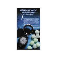 Enterprise Tackle Искусственные Приманки Enterprise, Цвет Nite Glow (Плавающий червь ET NITEGLOW WORMS - NEON GREEN  *NEW*)