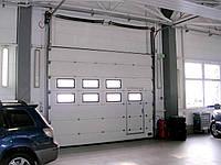 Подъемно секционные ворота для гаража