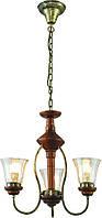 Люстра подвесная Altalusse INL-3078P-03 Walnut
