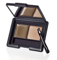 E.L.F. Cosmetics, Набір для оформлення брів: гель и пудра, попелястий відтінок, 0,123 унции (3,5 г)