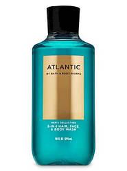 Шампунь для волосся і гель для душу 3в1 Atlantic Bath and Body Works